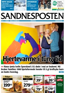 Sandnesposten_18_cover
