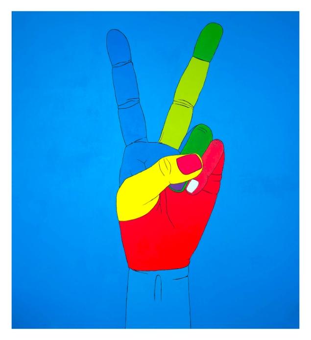 PEACE, 105x115cm Giclèe (20pcs)