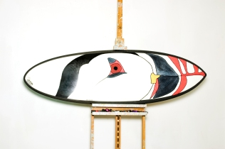 Surfboard as canvas (Top)