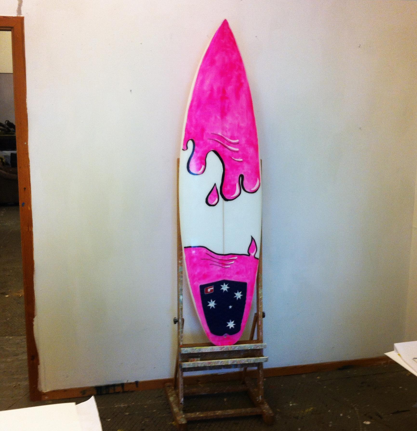 Simple bathroom designs ideas - Simple Surfboard Art Designs Galleryhip Com The